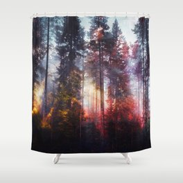 Warm fuzzy feelings Shower Curtain