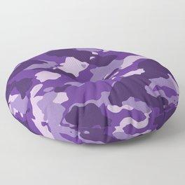 Purple Camo Floor Pillow