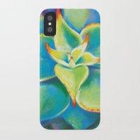 Succulent  Flower Slim Case iPhone X