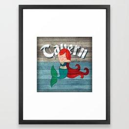 Mermaid Tavern Framed Art Print