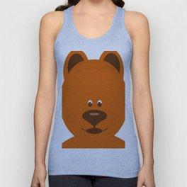 Teddy Bear  Unisex Tank Top