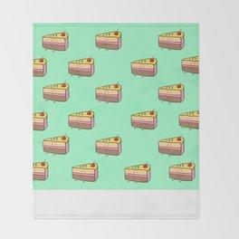 Cake slice Throw Blanket
