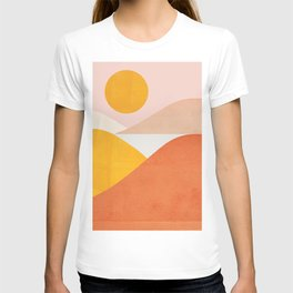 Abstraction_Mountains T-shirt