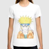 naruto T-shirts featuring Naruto Uzumaki by rosalia