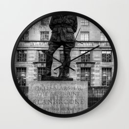 Field Marshal Alan Brooke Wall Clock