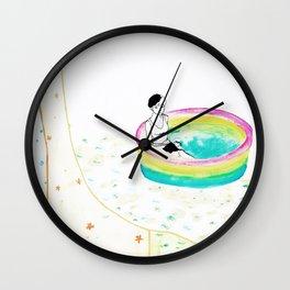 float. Wall Clock