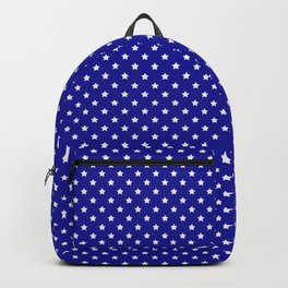 Blue and White Stars Backpack