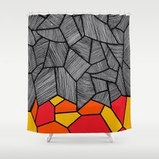 - sun would have a door to the dancefloor - Shower Curtain