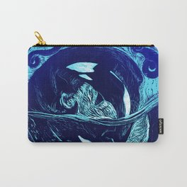 Harmony within the Orca Yin&Yang Carry-All Pouch