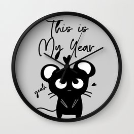 This is my year Wall Clock