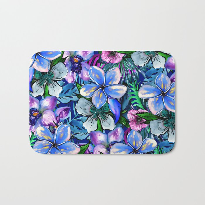 My Tropical Garden 5 - variation Bath Mat