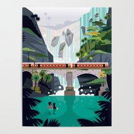 Dhudsagar waterfalls ft. Cute couple Poster