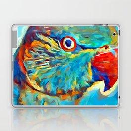Ring-Necked Parakeet Laptop & iPad Skin