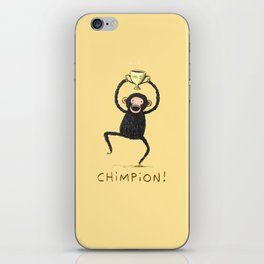 Chimpion iPhone Skin