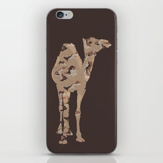 Camelflage iPhone & iPod Skin