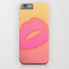Sunset Lip iPhone Case