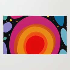 Galaxy Abstract Pattern Minimalist Decoration Rug