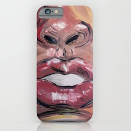 THE FACE OF A LOVER iPhone Case