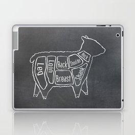 Lamb Butcher Diagram (Sheep Meat Chart) Laptop & iPad Skin