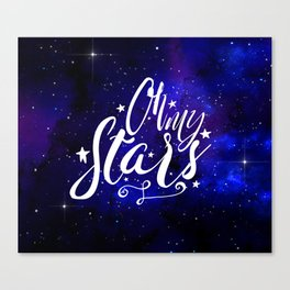 Oh My Stars Canvas Print
