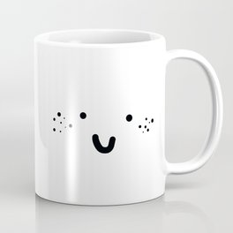 VERY HAPPY FRECKLED FACE Coffee Mug