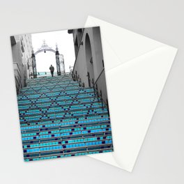 Mystery Man on the Blue Stairway to Heaven, Kansas City Stationery Cards