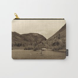 Crawford Notch-Sepia Carry-All Pouch