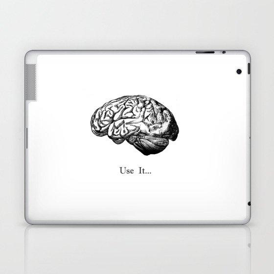 Brain Anatomy - Use It Laptop & iPad Skin