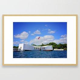 Perl Harbor Framed Art Print
