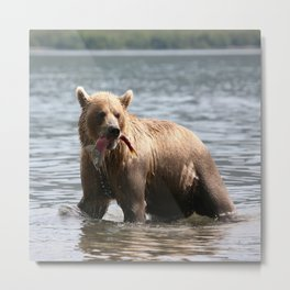 Good Catch Metal Print