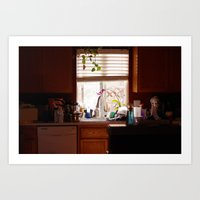 Cozy Kitchen Art Print