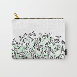 Triangles and Tessellation Carry-All Pouch