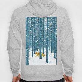 A Golden Fox In The Wild Hoody