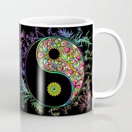 Yin Yang Bamboo Psychedelic Coffee Mug