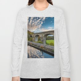 Chirk Aqueduct And Viaduct Long Sleeve T-shirt