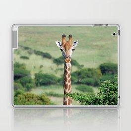 Giraffe Standing tall Laptop & iPad Skin