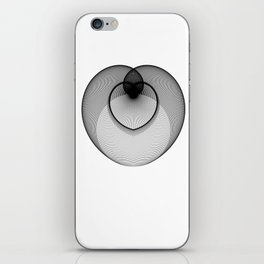 The Heart . Geometric Colletion iPhone Skin