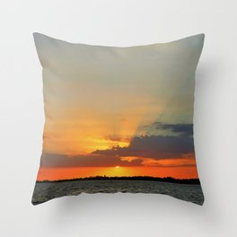 Go in for the Kiss Throw Pillow