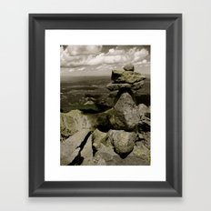 Pikes Peak Framed Art Print
