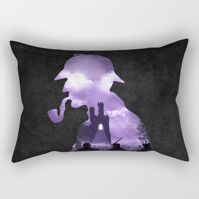 The Secret of the Castle Rectangular Pillow