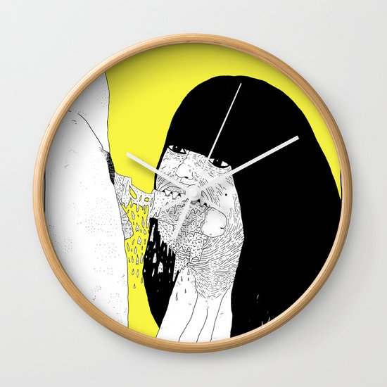 GOOD GIRLS VS RUDE GIRLS Wall Clock