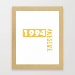Made in 1994 - Perfectly aged Framed Art Print