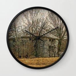 Interesting Barn Structure Wall Clock