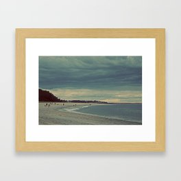 Nautica: Drawn to  Shore Framed Art Print