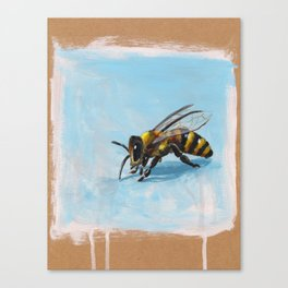 Buzzle-bee Canvas Print