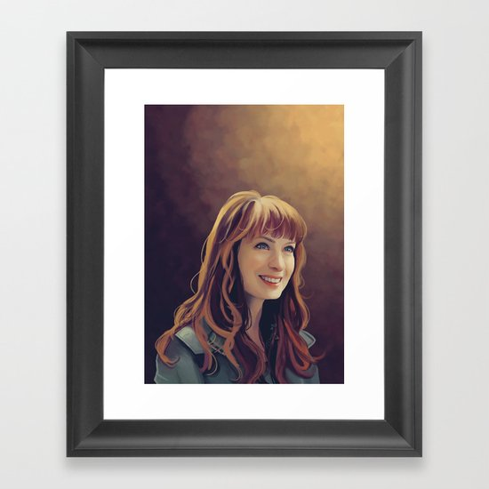 charlie Bardbury - Supernatural Framed Art Print