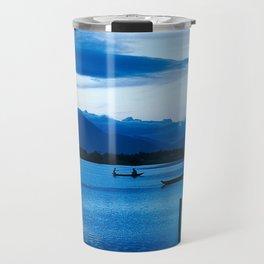 BLUE VIETNAMESE MEDITATION Travel Mug