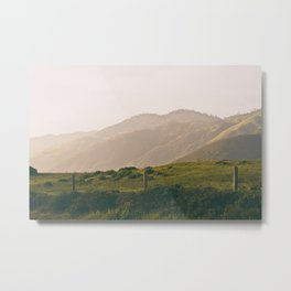 The Foothills Metal Print