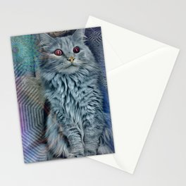 DMT Cat Stationery Cards