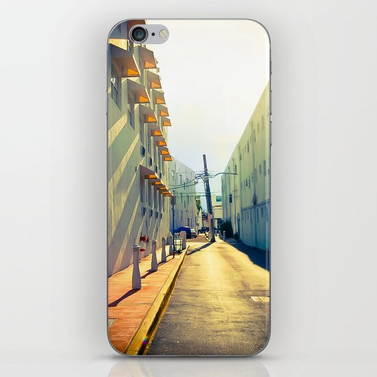 South Beach Sunrise iPhone & iPod Skin